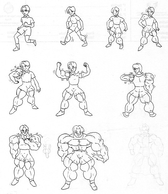 muscle growth transformation by chocomus