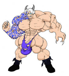 Kai demon form by chocomus