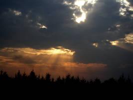 dramatic sky by shokisan