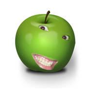 I am an apple by shokisan
