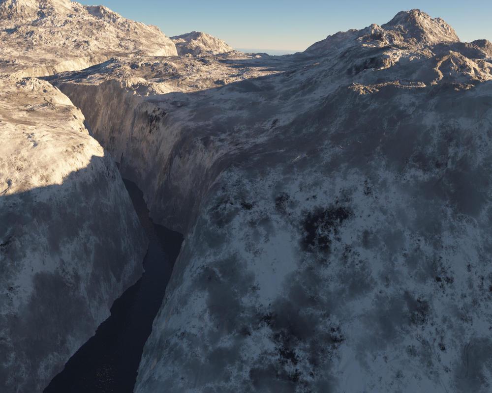 Miridian Canyon by kon16ov