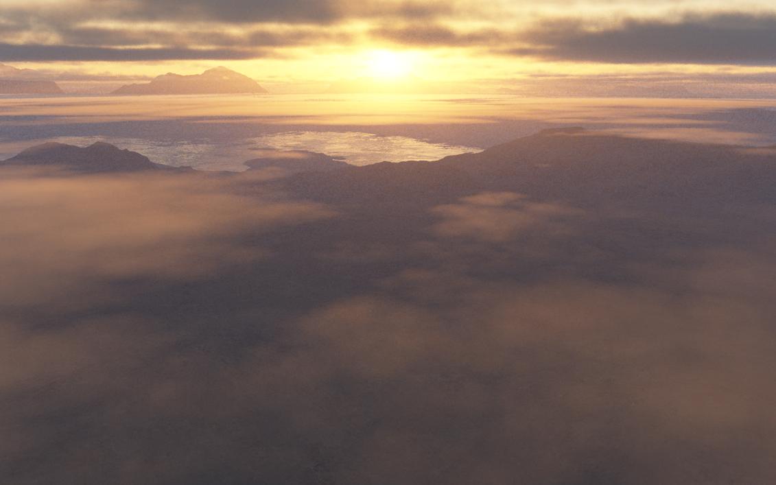 Caspaerian Sunset by kon16ov