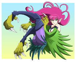 Harpy Lady by YuukoSakaki