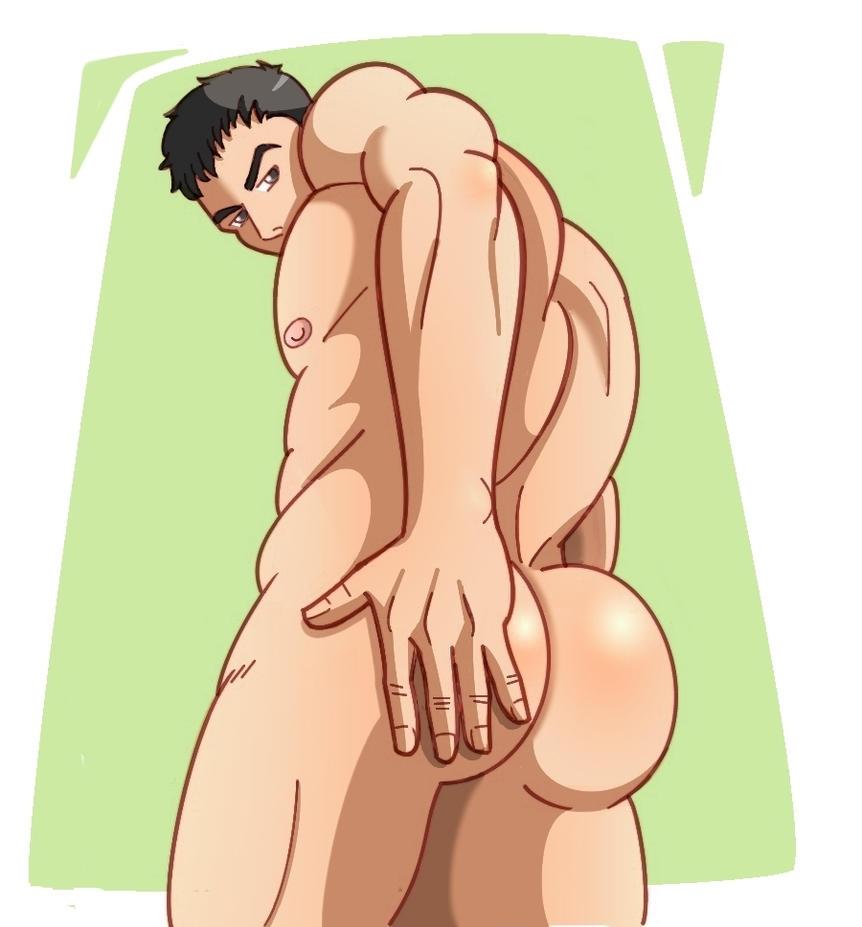 Redfield's butt by YuukoSakaki