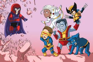 X-Men by tisbore