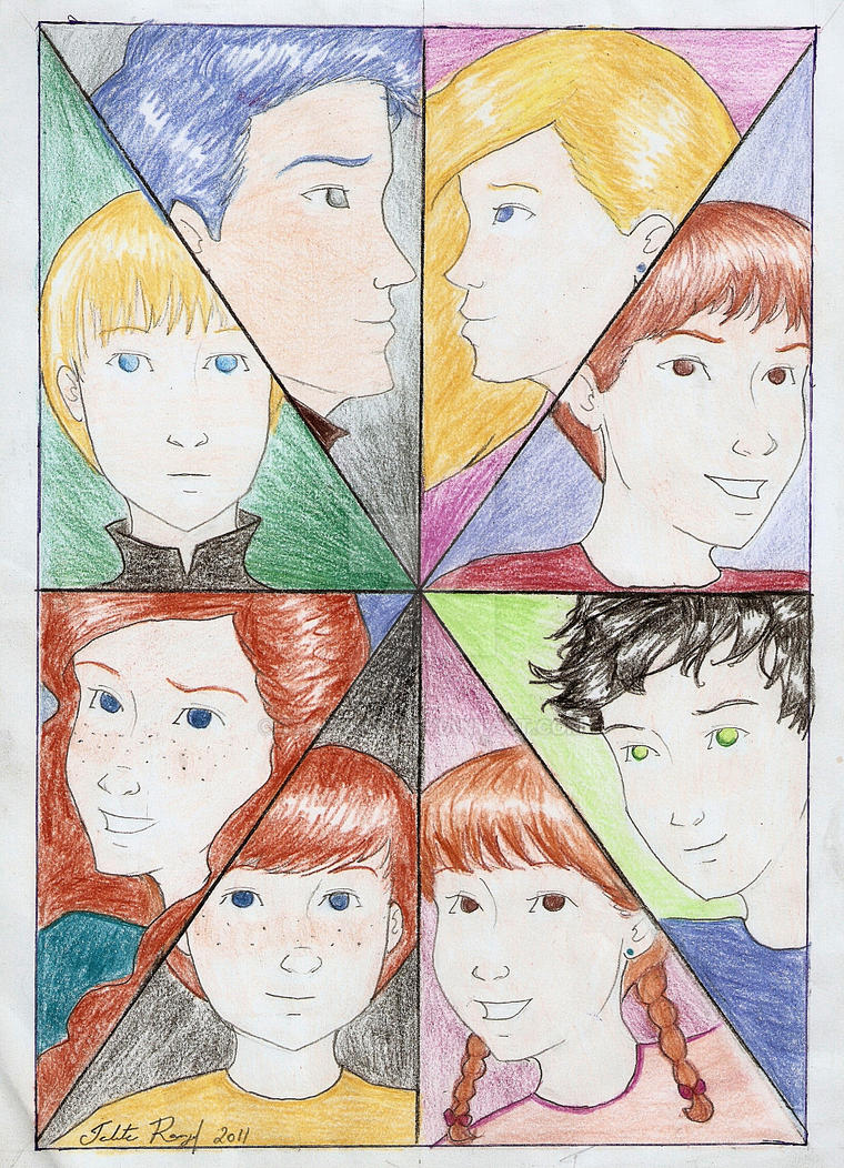 The Kids by talita-rj