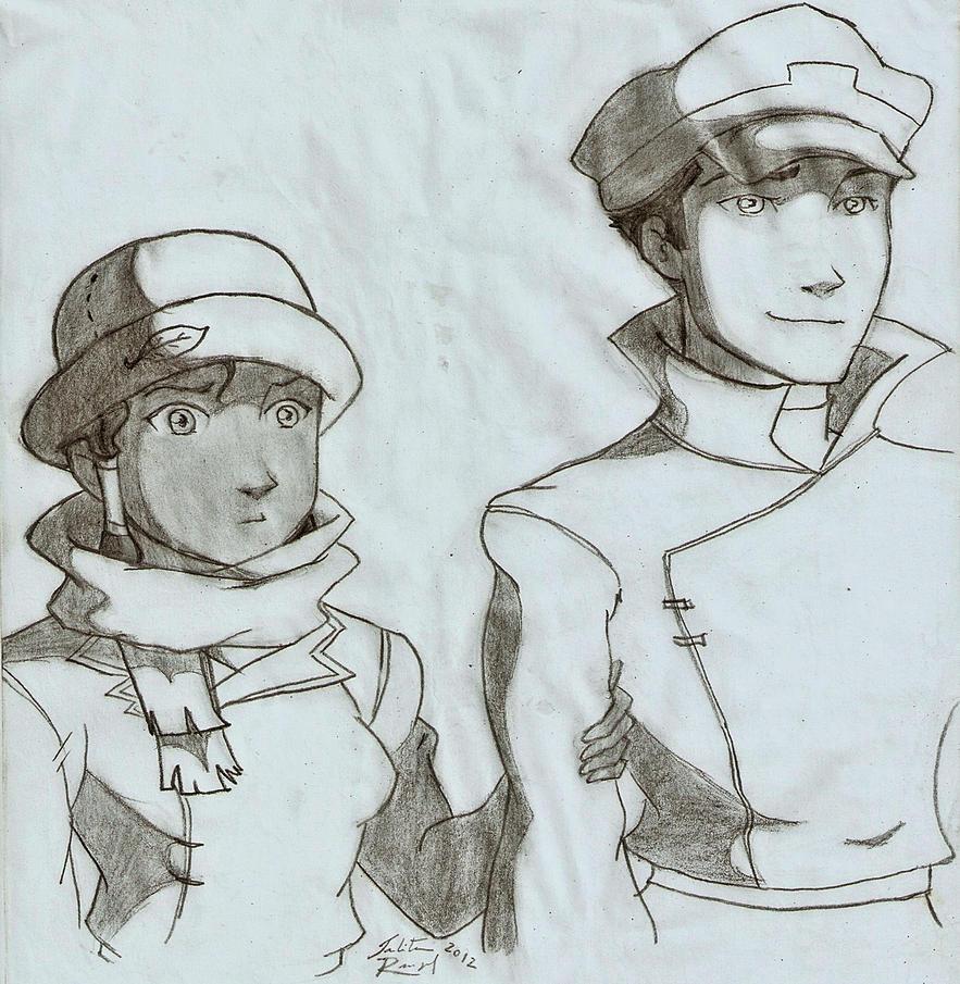 Korra and Mako - episode 3 by talita-rj