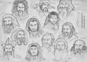 Dwarves by talita-rj