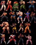 STREET FIGHTER SNK XIII STYLE