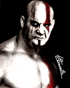 Bill Goldberg as Kratos by Lwiis64