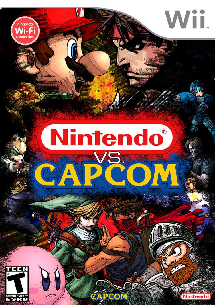 Nintendo vs. Capcom box art by Lwiis64