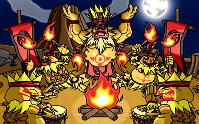 Ritual of Fire by Lwiis64