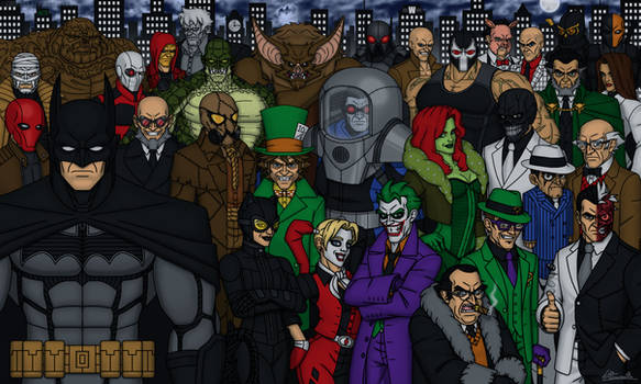 Batman and the Rogues Gallery