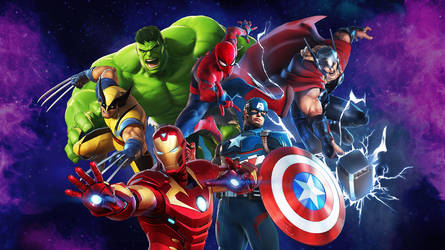 MUA3 - Marvel All-Stars