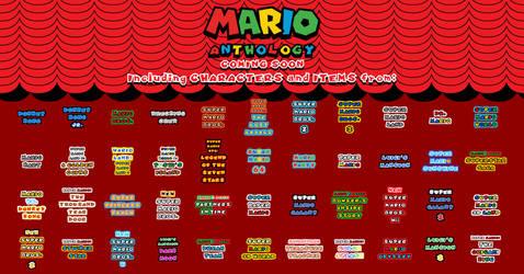 Mario Anthology - Game List