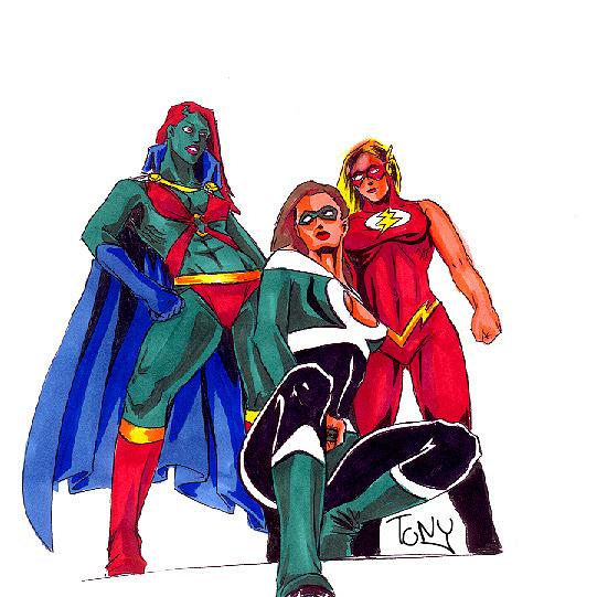 Justice League Sex 11