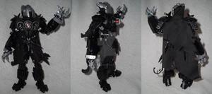 Bionicle Self Moc: Kylfu the Shadow Warrior