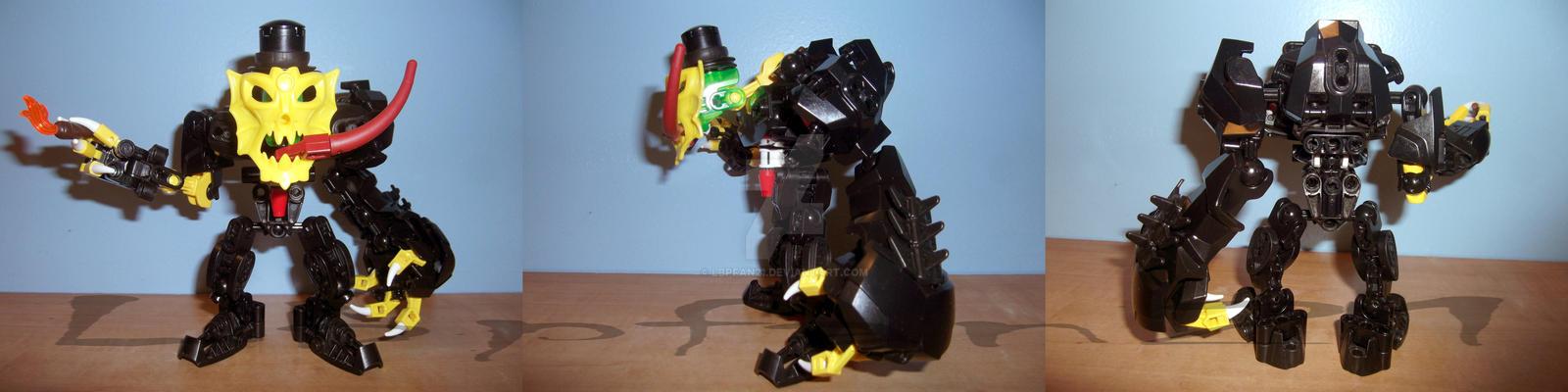 Bionicle Moc: Mr. Jekyll by lbpfan21