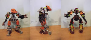 Bionicle Moc: Toa Pohatu, Master of Stone