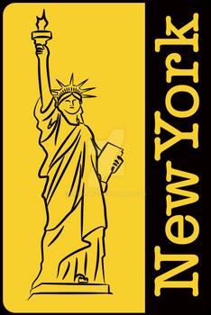 New York - sticker