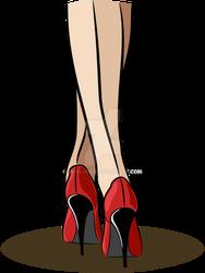 High heels by mpihlamo