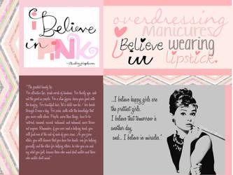 I believe in PINK by Jessfburdie