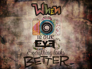 When camera is our eyes...