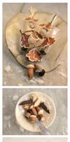 Miniature Chocolate Acorns