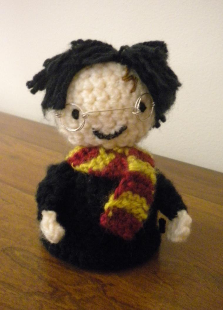 Amigurumi Harry Potter : Harry Potter Amigurumi by drewbiedooah on DeviantArt