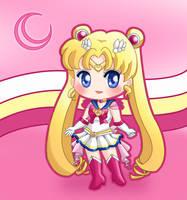 Super Sailor Moon by drewbiedooah