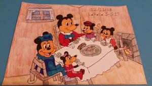 Mickey's Christmas Dinner
