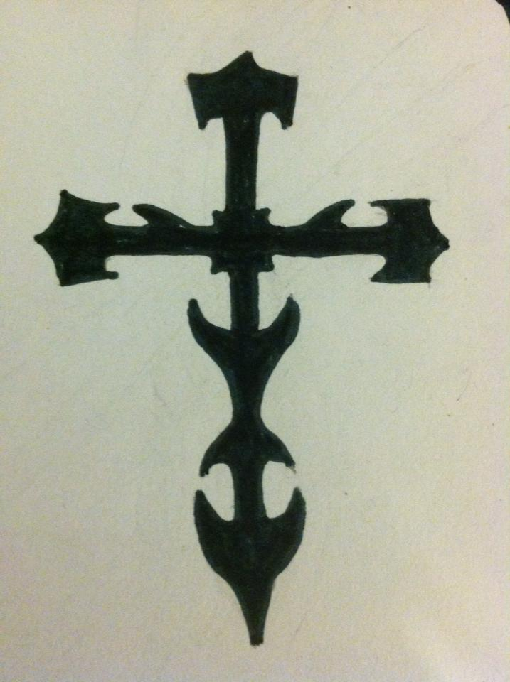tribal cross wallpaper by - photo #36