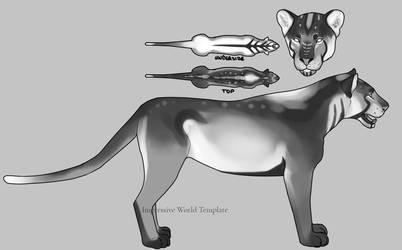 Impressive World Feline Marking Concept by svturnvl