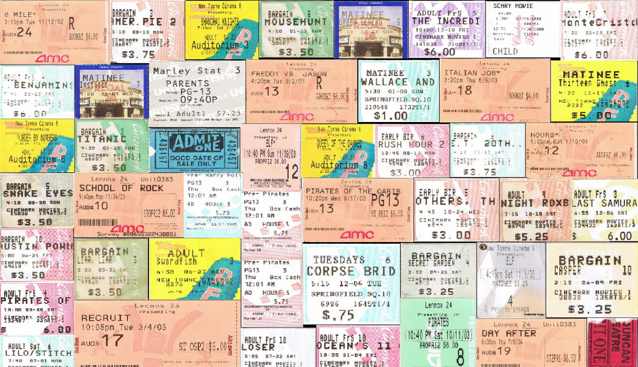Ticket stub background by Pods-Mouse