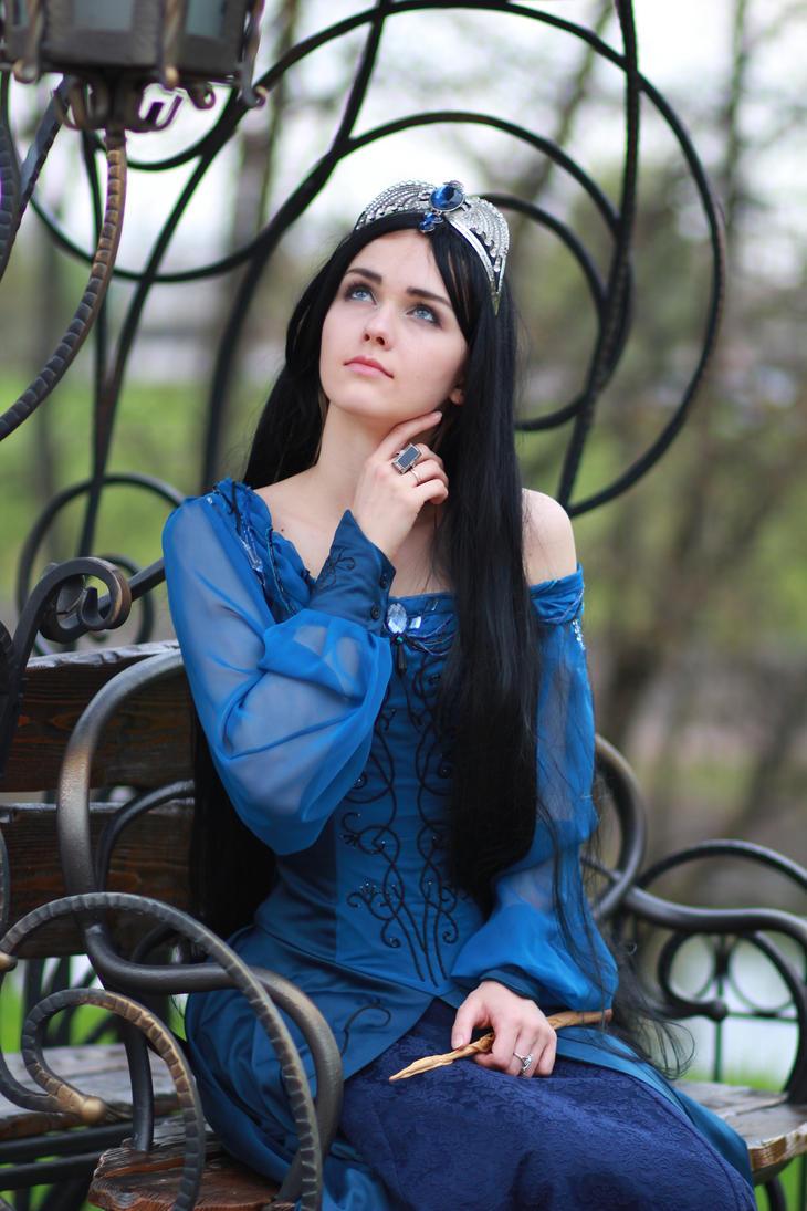 Rowena Ravenclaw by Aquilina-das