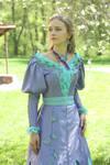 Costume 'Spring aquarell' stock image