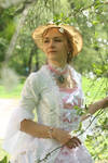 Costume 'Evangeline', stock image