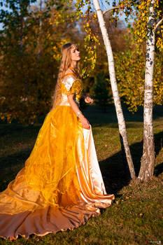 Costume 'Amber fall', 2018