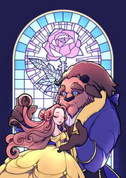 The Beauty and the Beast by miss-edbe