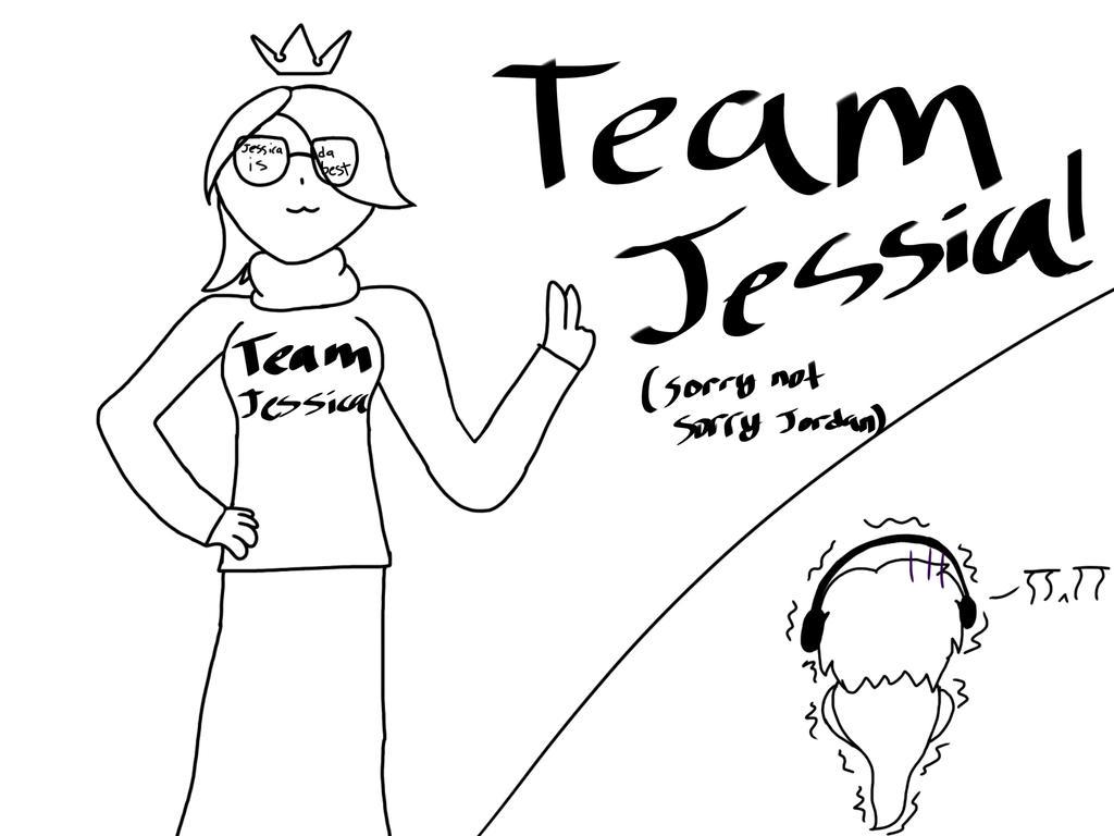 Team Jordan vs Team Jessica by ArminArlertKawaii