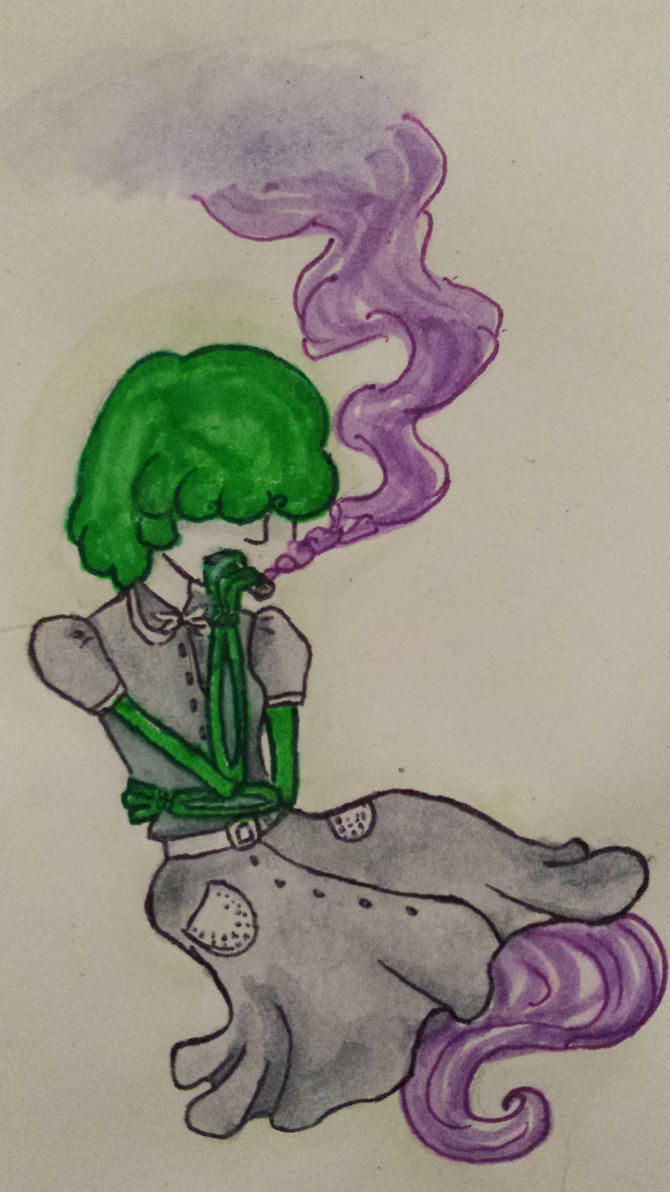 40's stoner ghoul by bodymindandspirit