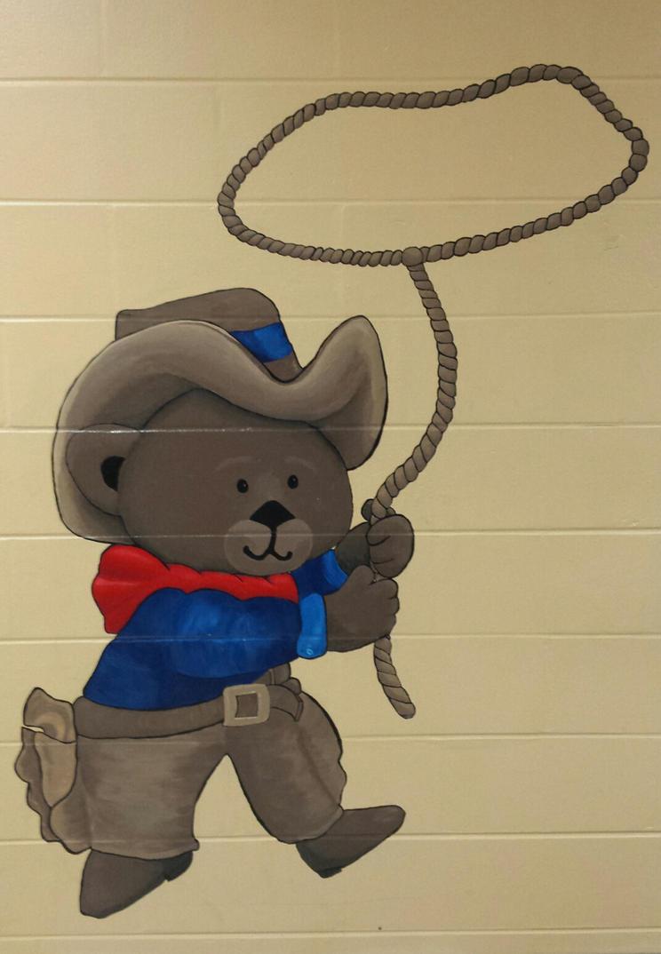 little wranglers mural by bodymindandspirit