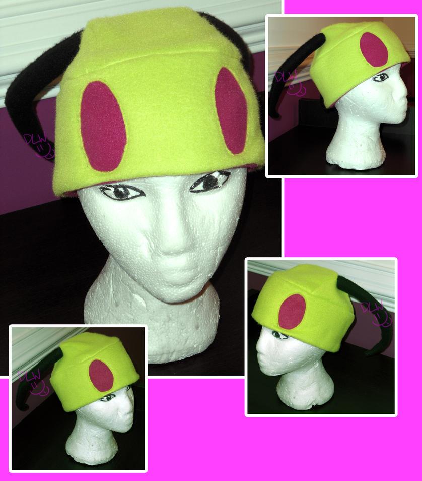 Invader Zim Hat by dareKITTY