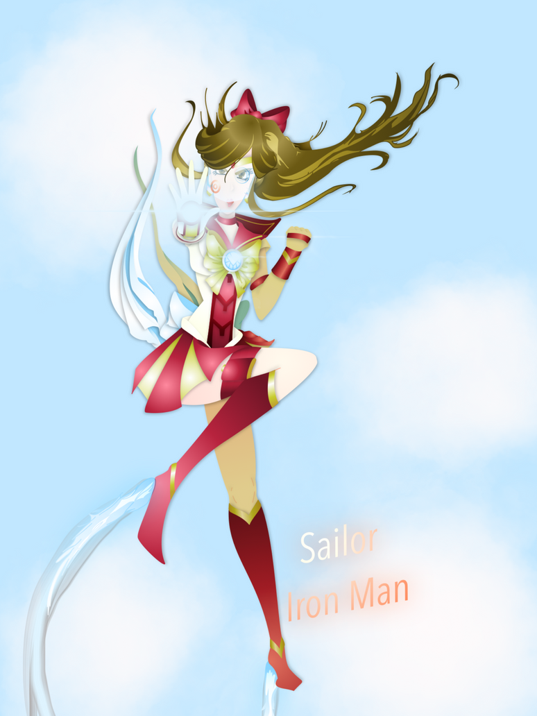 Sailor Iron Man by dareKITTY
