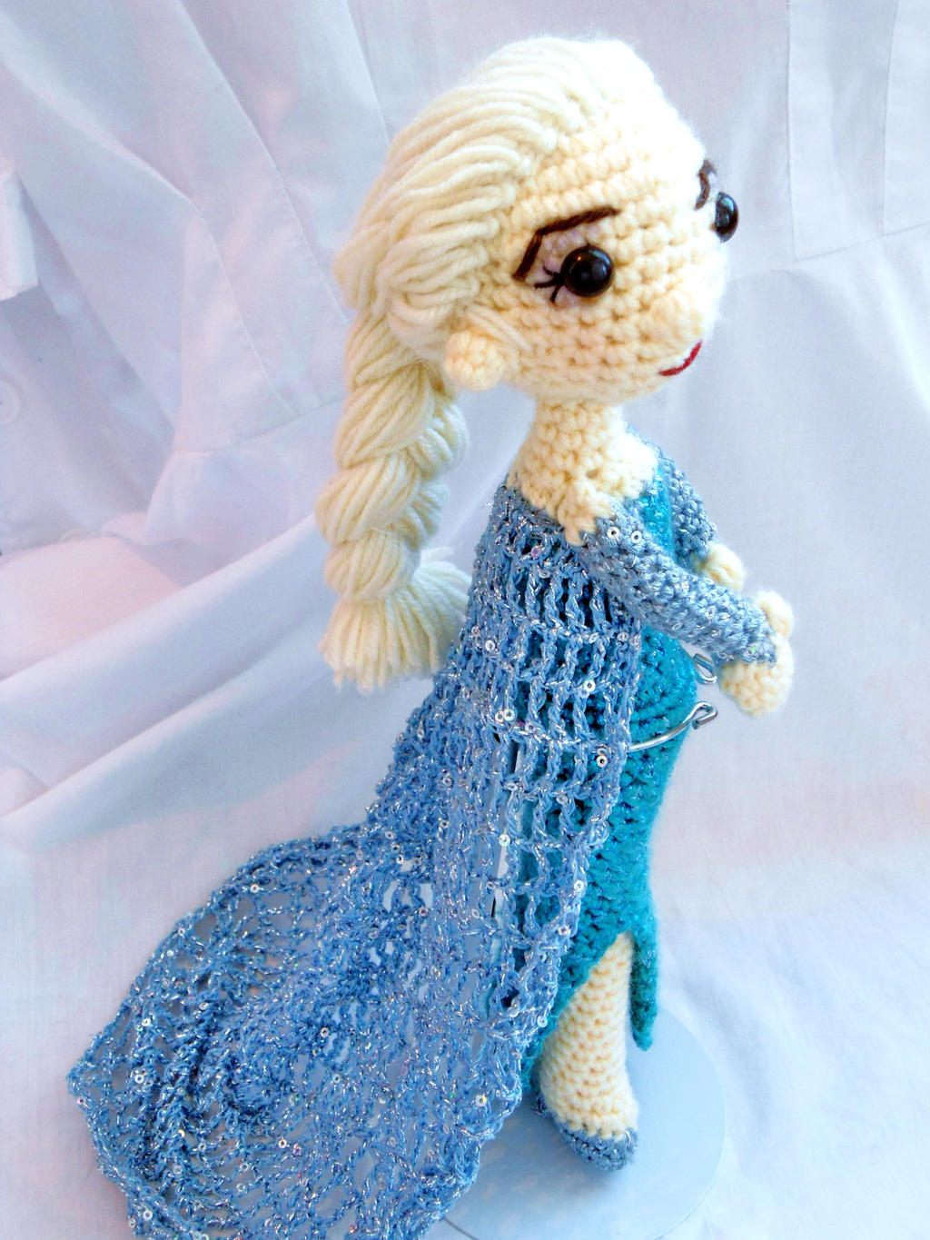 Crochet Elsa Amigurumi : Elsa (Frozen) amigurumi by dareKITTY on DeviantArt