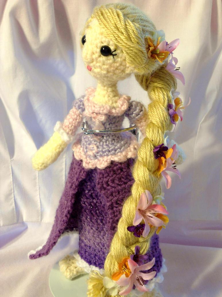 Rapunzel amigurumi by dareKITTY