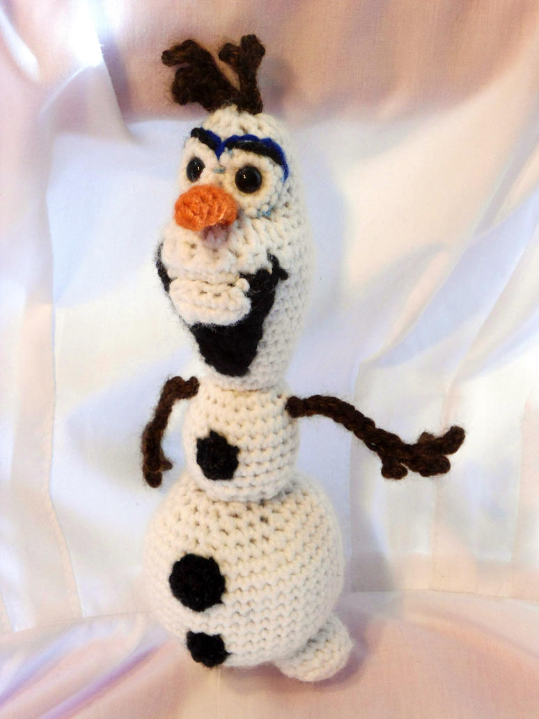 Olaf (Frozen) amigurumi by dareKITTY on DeviantArt