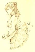 .-Stars- Lineart. by SamuraiNataku