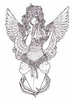 .Weeping Angel Lines. by SamuraiNataku