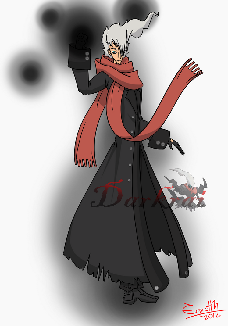 Pokehumans serie - Human Darkrai by ErgotthVonHohenheim on DeviantArt